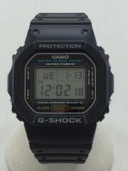 クォーツ腕時計・G-SHOCK/デジタル/ラバー/ブラック/ブラック