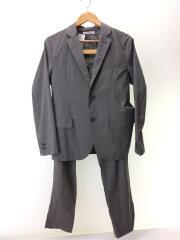 セットアップ/M/ナイロン グレー キャップ スーツ イージーパンツ ジャケット 17-010-464-01
