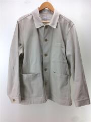 pique work jacket/20ss/ジャケット/3/コットン/アイボリー/201-60402