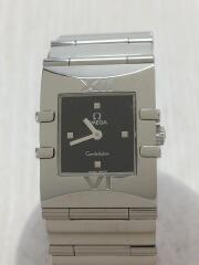 クォーツ腕時計/ステンレス/BLK/SLV/1521.41/コンステレーション カレ////CONSTELLATION///59098053