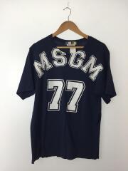 Tシャツ/M/コットン/NVY/1840MM94/ナンバリングプリントTee