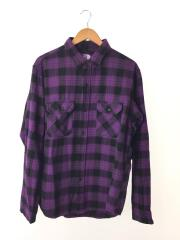 ネルシャツ/XL/コットン/PUP/Twill Check Shirt/NT3958N