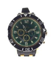 クォーツ腕時計/アナログ/ラバー/23703