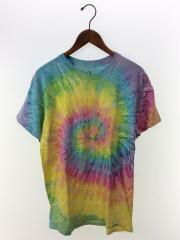 Tシャツ/M/コットン/総柄