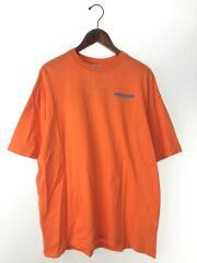 18SS/FIBEROPTIC T-shirt/Tシャツ/S/コットン/ORN/無地