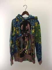 20SS/Miles Davis/Hooded Sweatshirt/パーカー/L/コットン/マルチカラー/総柄/プルオーバー マイルスデービス
