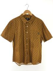 Mini Paisley Shirt/L/コットン/総柄半袖シャツ/CML