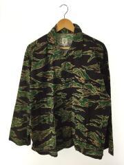 20SS/Hunting Shirt-Printed Flanne/長袖シャツ/M/BLK/カモフラ/GL822