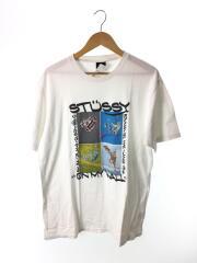 ON MY WALL/Tシャツ/XL/コットン/WHT