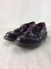 Burgundy Polished Tassel loafer/ローファー/--/BRW/C819a2