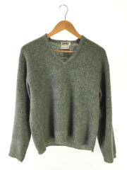 70s/USED/セーター(薄手)/M/モヘア/GRN