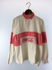 80s-90s/USED/ポロシャツ/--/コットン/WHT
