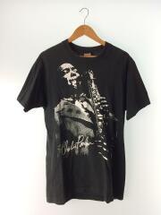 USED/90s/charlie porter/ジャズTシャツ/L/コットン/BLK