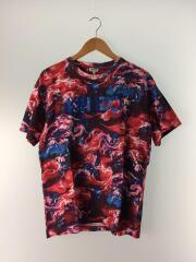 contrast logo T-shirt/フロントロゴ/Tシャツ/M/コットン/総柄