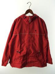 90s/ナイロンジャケット/L/ナイロン/RED