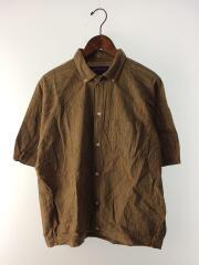 ポケット付半袖シャツ/--/コットン/マルチカラー