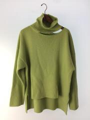 19AW/High Neck Knit/セーター(厚手)/S/アクリル