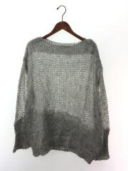 Mohair Loose Knit/セーター(薄手)/38/モヘア/GRY/無地/11820501