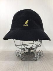 BERMUDA CASUAL BUCKET HAT/バケットハット/L/アクリル/BLK/0397BC