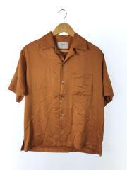 半袖シャツ/1/フィブリルサテンオープンカラー/107103001