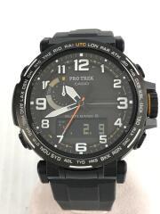 ソーラー腕時計・PROTREK/デジアナ/BLK