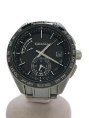 ブライツワールドタイム/ソーラー腕時計/8B54-0BC0