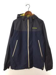 デクルーズサミットジャケット/マウンテンパーカ/L/ナイロン/NVY/PM3992