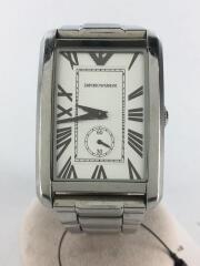 クォーツ腕時計/アナログ/ステンレス/SLV/AR-1607