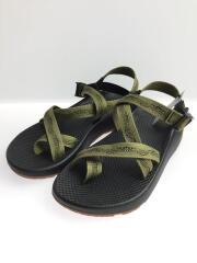 サンダル/ロゴ/ブラック/靴/クツ/アウトドア/カーキ/サイズ41/ベルト