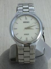 DOLCE/ドルチェクォーツ腕時計/8J41-0A10/アナログ/ステンレス/WHT/SLV/シルバー/