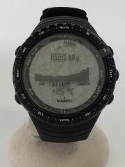 Core/コア/オールブラック/腕時計/デジタル/ラバー/SS014279010/ロゴ/メンズ/黒