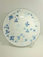STRAWBERRY BLUE/ストロベリーブルー/27cmプレート/洋食器/ホワイト/ブルー/ロゴ