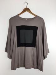 SINGLE JERSEY BIG-T/SQUARE/Tシャツ/1/コットン/GRY/18315083/シャリーフ