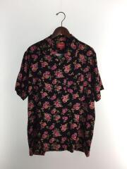 半袖シャツ/L/レーヨン/BLK/20SS/Floral Rayon S/S Shirt