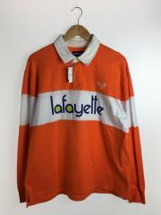 ラガーシャツ/長袖Tシャツ/XL/コットン/ORN/LA190301/ラファイエット