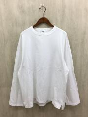 18AW/LONG SLEEVE SUPER BIGTSHIRT/長袖Tシャツ/コットン/WHT/2218-705