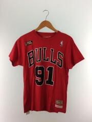 Tシャツ/S/コットン/RED
