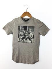 Tシャツ/US10/コットン/GRY/カットソー/キッズ/子供服/灰色/