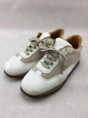 ローカットスニーカー/WHT/キャンバス/白/ホワイト