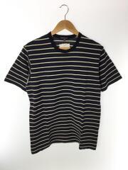 Tシャツ/M/コットン/NVY/ボーダー/19SS/バックプリント/CDGH