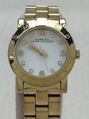 クォーツ腕時計/MBM3057/アナログ/ステンレス/SLV/GLD