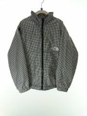 ジャケット/130cm/ポリエステル/WHT/ギンガムCK/タグ切り跡有/一部汚れ有