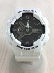 クォーツ腕時計・G-SHOCK/デジアナ/--/WHT/WHT