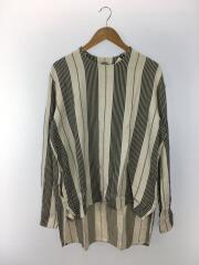 Bed Stripes Pull Over/プルオーバーシャツ/3/ウール/WHT/ストライプ/16A18