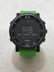 Core/クォーツ腕時計/デジタル/グリーンクラッシュ/SS019163000