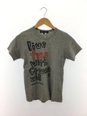 Tシャツ/S/コットン/GRY/AD2009/GE-T079