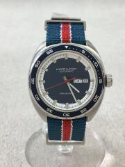 PAN EUROP DAY DATE AUTO/自動巻腕時計/アナログ/h354050