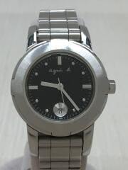 クォーツ腕時計/アナログ/ステンレス/SLV