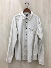 パタゴニア/長袖シャツ/XL/コットン/BEG/52505FA17/クリーン・カラー