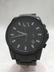 アルマーニエクスチェンジ/AX2093/クォーツ腕時計/アナログ/ステンレス/BLK/BLK